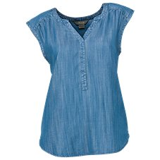 Natural Reflections Chambray Top for Ladies