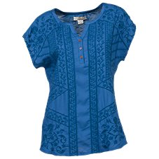 Bob Timberlake Embroidered Dolman Top for Ladies 190001