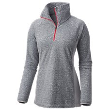 Columbia Glacial Fleece III Print 1/2-Zip Pullover for Ladies