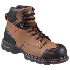 Rocky Work Maxx 8' Waterproof Safety Toe Work Boots for Men