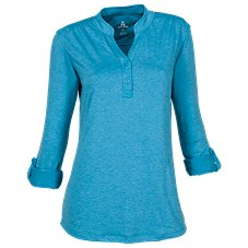 Ascend Tech Henley Pullover for Ladies