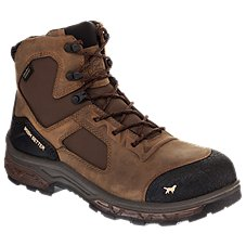 Irish Setter Kasota Waterproof Side-Zip Safety Toe Work Boots for Men