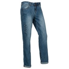 Natural Reflections Embroidered Girlfriend Jeans for Ladies