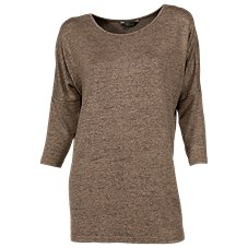Natural Reflections Sweater Knit Tunic Top for Ladies