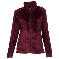 Natural Reflections Plush Fleece Jacket for Ladies