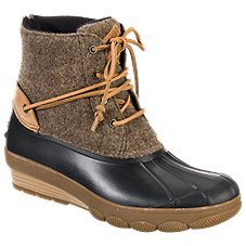 Sperry Saltwater Wedge Tide Wool Boots for Ladies