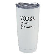 PURE Drinkware Fun Water Stainless Steel Tumbler
