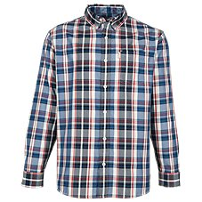 Bob Timberlake Yarn-Dyed Oxford Plaid Shirt for Men