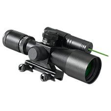 Pursuit X1 Tactical Carbine Scope with Laser Sight