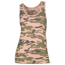 Natural Reflections Camo Sleep Tank Top for Ladies