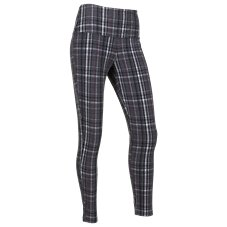 Natural Reflections Brushed Plaid Leggings for Ladies