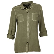 Natural Reflections Tencel Utility Shirt for Ladies