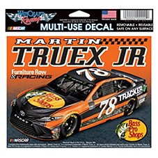 Bass Pro Shops NASCAR Martin Truex, Jr. #78 Multi-Use Window Decal