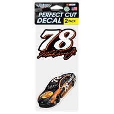 Bass Pro Shops NASCAR Martin Truex, Jr. #78 Perfect Cut Decal Set