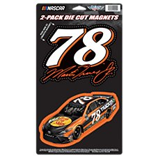 Bass Pro Shops NASCAR Martin Truex, Jr. #78 Die-Cut Magnet Set
