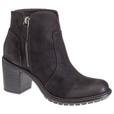 Natural Reflections Norri Side-Zip Ankle Boots for Ladies