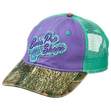 Bass Pro Shops Frayed Logo Mesh Back Cap for Ladies