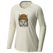 Columbia Feline Groovy Long-Sleeve T-Shirt for Ladies