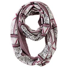 Bob Timberlake Digital Stripe Infinity Scarf for Ladies
