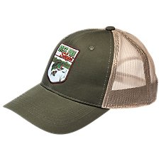 Bass Pro Shops Shield Patch Mesh Back Cap
