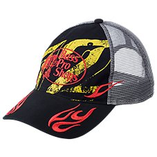 Bass Pro Shops 72 With Flames Mesh Back Cap