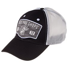 Bass Pro Shops Heathered Flex Mesh Back Fitted Cap