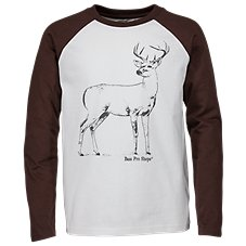 Bass Pro Shops Buck Raglan Shirt for Toddlers or Kids
