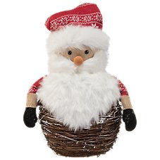 Bass Pro Shops Birch Santa Tabletop Decor