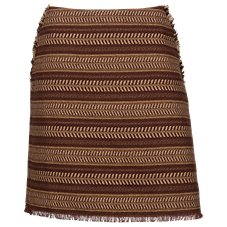 Bob Timberlake Textured Pencil Skirt for Ladies