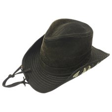 RedHead Waxed Cotton Cowboy Hat