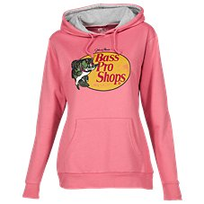 Bass Pro Shops Woodcut Logo Hoodie for Ladies