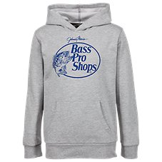 Bass Pro Shops Fleece Logo Hoodie for Toddlers or Kids