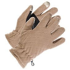 Natural Reflections Diamond Fleece Gloves for Ladies