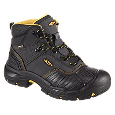 Keen Utility Logandale Waterproof Steel Toe Work Boots for Men