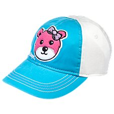 Bass Pro Shops Pink Bear Cap for Toddler Girls