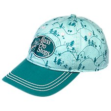 Bass Pro Shops Cottage Print Cap for Kids