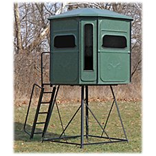 Redneck Blinds The Buck Palace Platinum 360 Hunting Blind with Stand