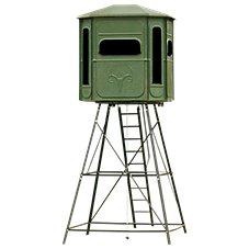 Redneck Blinds The Predator Platinum 360 Hunting Blind with Stand