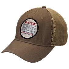 Bass Pro Shops Sublimated Patch Mesh Back Fitted Cap