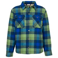 Bass Pro Shops Plaid Sherpa-Lined Jacket for Toddlers or Boys