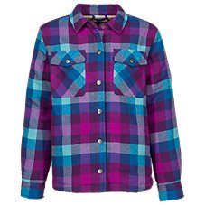 Bass Pro Shops Plaid Sherpa-Lined Jacket for Toddlers or Girls