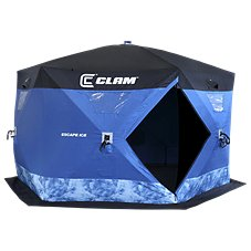 Clam Escape Ice Fishing Shelter