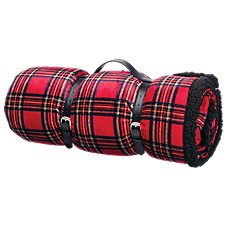 Bass Pro Shops Plaid Berber Blanket