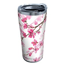 Tervis Tumbler Cherry Blossom Stainless Tumbler with Clear Lid