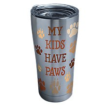 Tervis Tumbler My Kids Have Paws Stainless Tumbler with Clear Lid