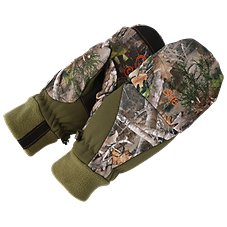 SHE Outdoor Fleece Pop-Top Insulated Mittens for Ladies