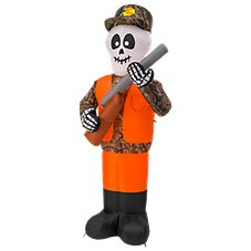 Bass Pro Shops 7.5' Inflatable Hunting Skeleton