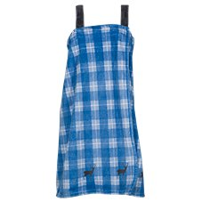 Bass Pro Shops Deer Plaid Fleece Bath Wrap for Ladies