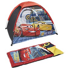 Exxel Outdoors Disney Cars 3 Camping Set for Kids