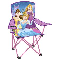 Exxel Outdoors Disney Princesses Folding Armchair for Kids
